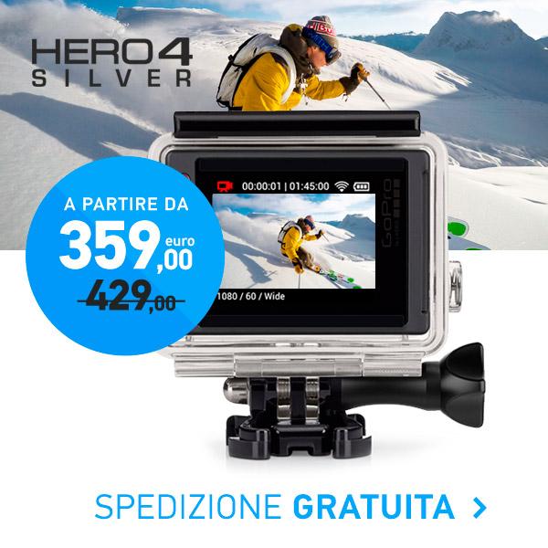 offerta gopro hero4 silver