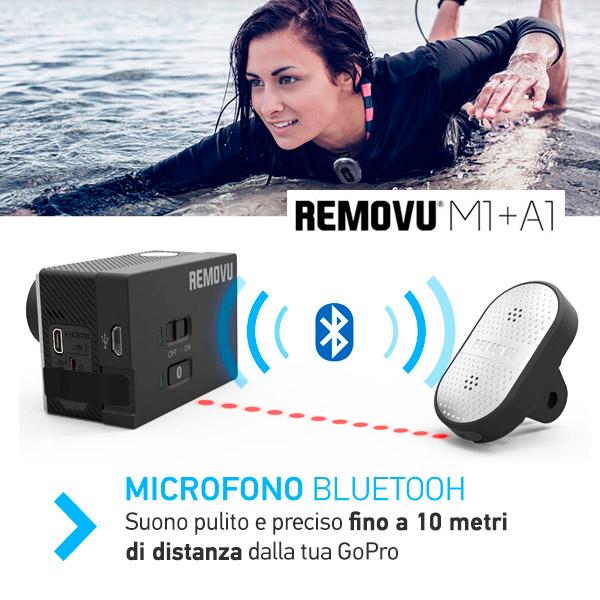 Microfono Bluetooth per GoPro