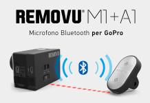 REMOVU M1+A1 microfono per GoPro