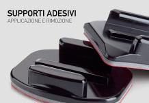 Applicare e Rimuovere i Supporti Adesivi GoPro