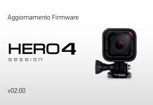 Aggiornamento GoPro HERO4 Session