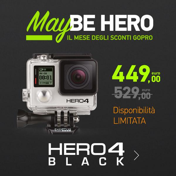 gopro hero4 black prezzo scontato