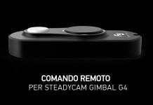 Comando per Steadycam G4