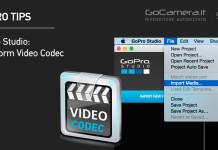 GoPro Studio Flusso di Conversione