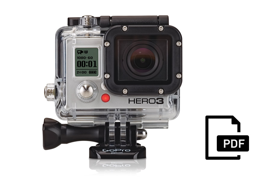 Manuale GoPro HERO3 Black