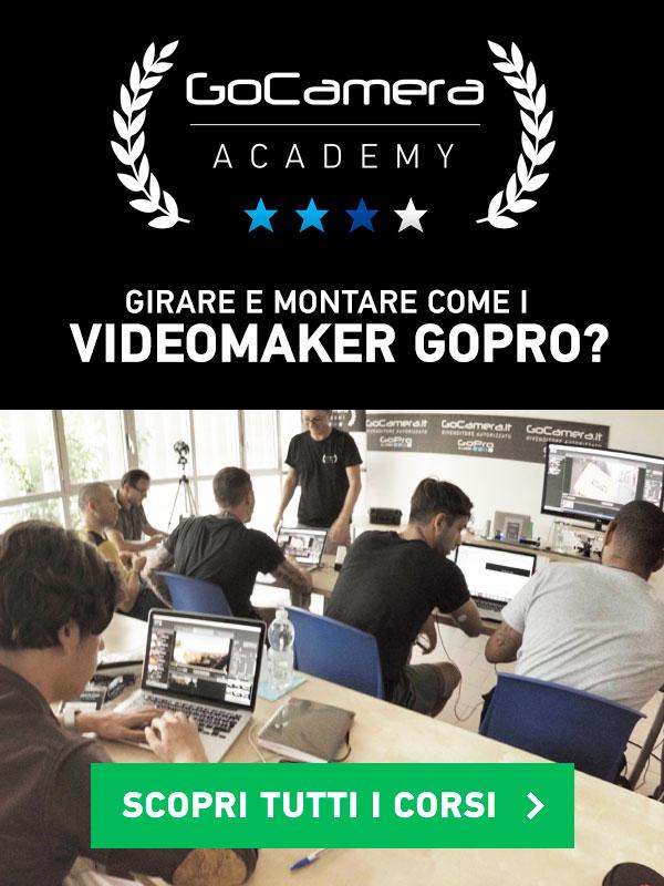 corsi video editing gopro
