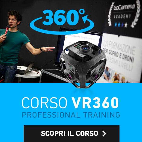 corso professionale gopro Vr360