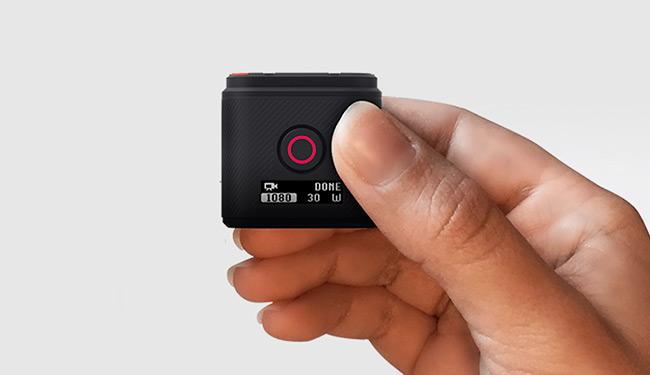 GoPro HERO 5 Session, pratica e semplice da utilizzare.