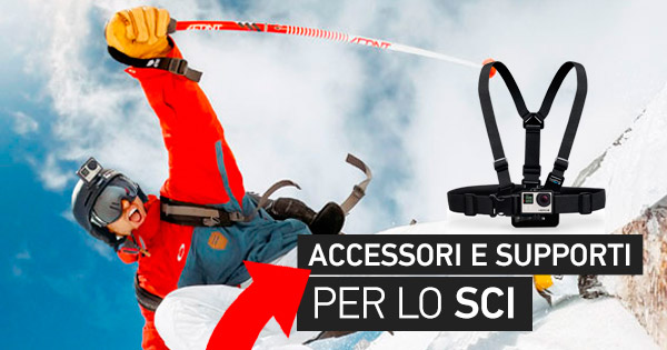 supporti gopro sci