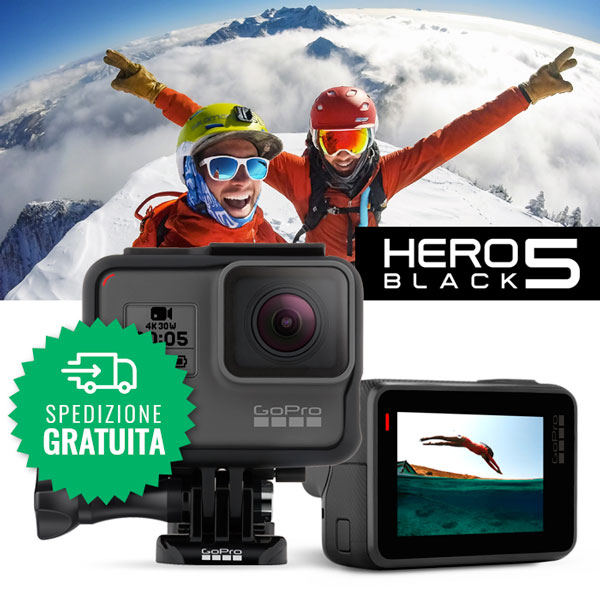 Nuova GoPro HERO5 Black