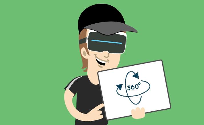 corso online vr 360