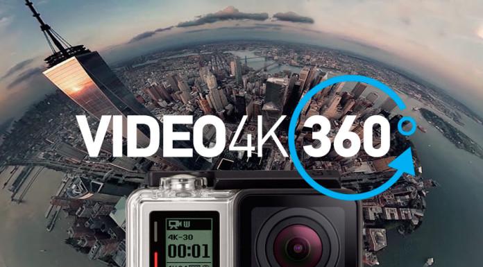 GoPro 360 gradi