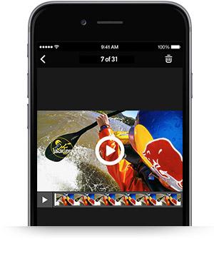 gopro app riproduzione video