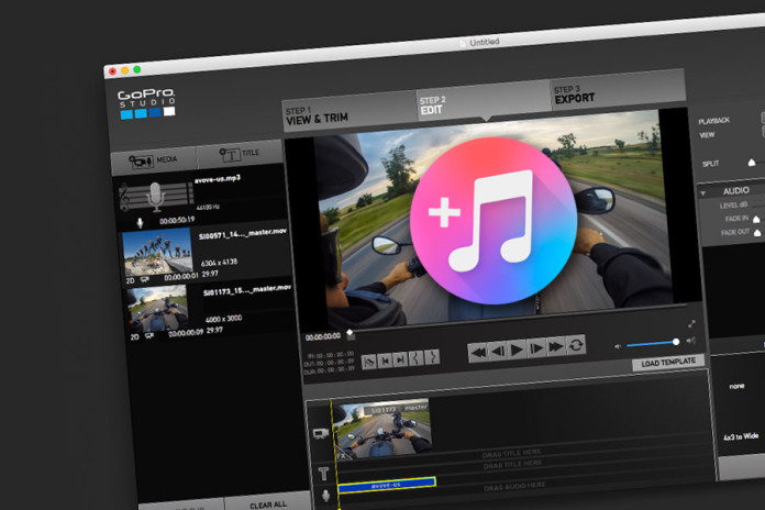 GoPro Studio aggiungere Audio