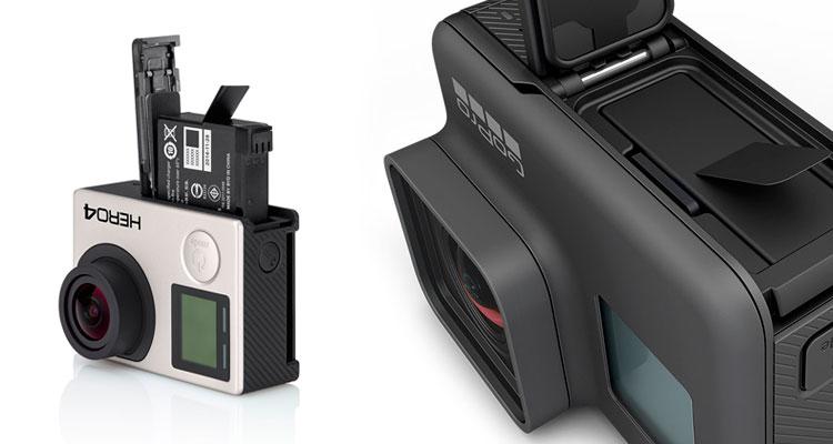 Batteria Compatibilità Accessori GoPro HERO 5