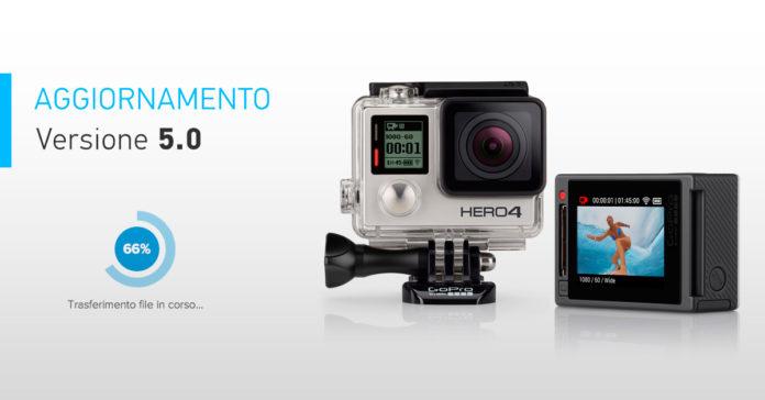 Aggiornamento GoPro HERO4 Black e Silver