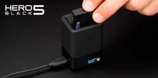 Caricabatterie Doppio GoPro HERO5 Black