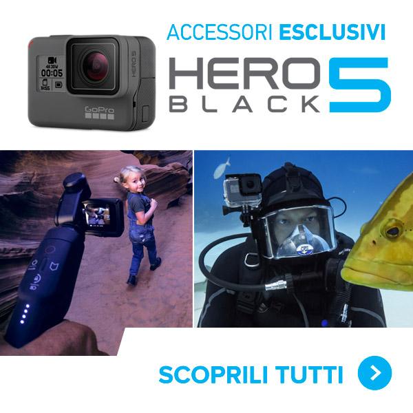 accessori esclusivi gopro hero5 black