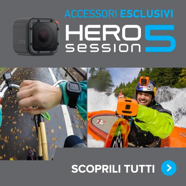 accessori esclusivi gopro hero5 session