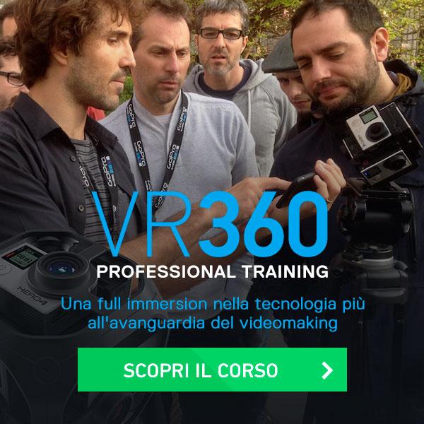 corso professionale video editng vr360