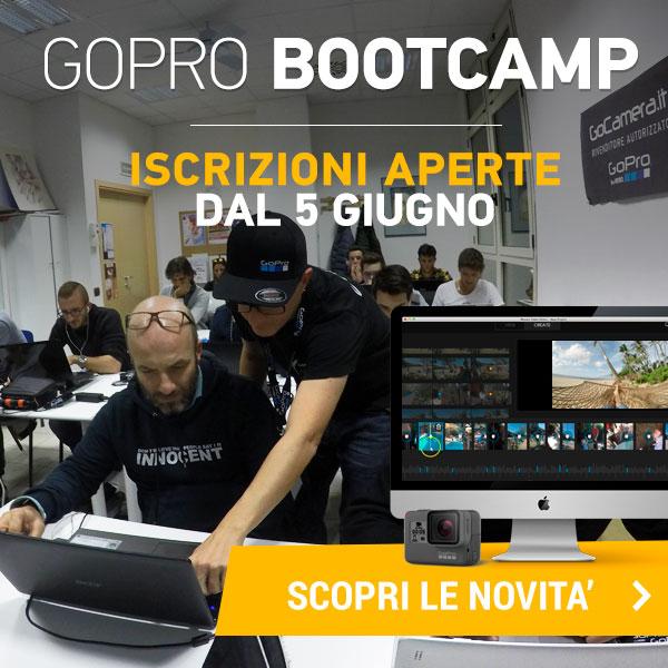 corso video editing gopro