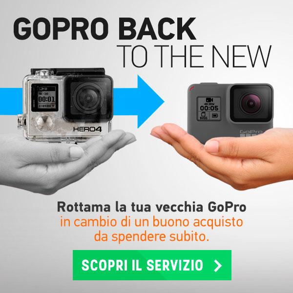 Scopri il servizio di rottamazione GoPro