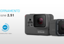 Aggiornamento GoPro HERO5 Black 2.51