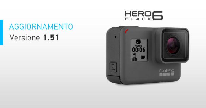 Aggiornamento Gopro HERO6 Black