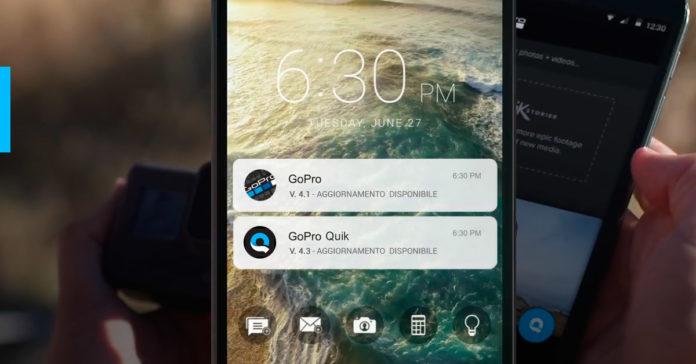 Aggiornamento GoPro App