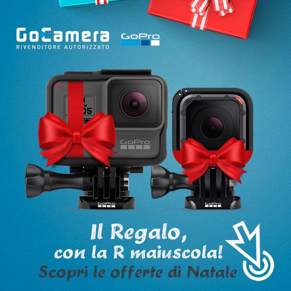 Scopri le offerte sulle videocamere GoPro del rivenditore autorizzato GoCamera.it