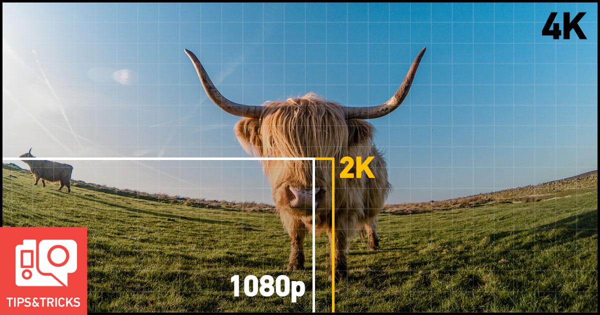 4K vs 1080p, quale risoluzione GoPro scegliere e perché by