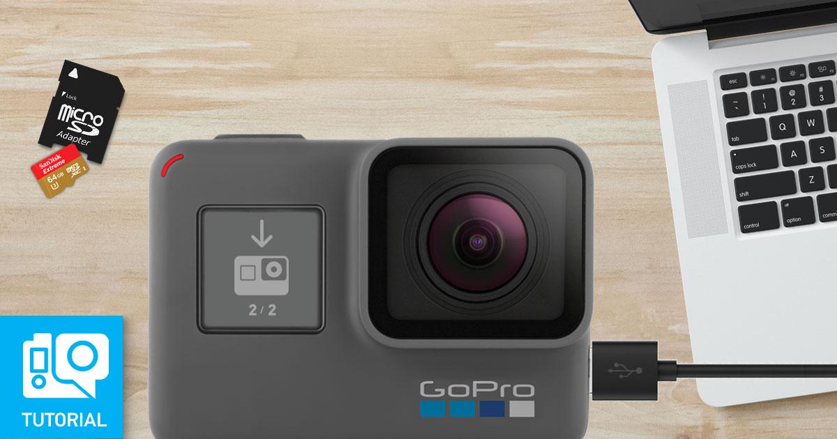 Come aggiornare il firmware GoPro manualmente