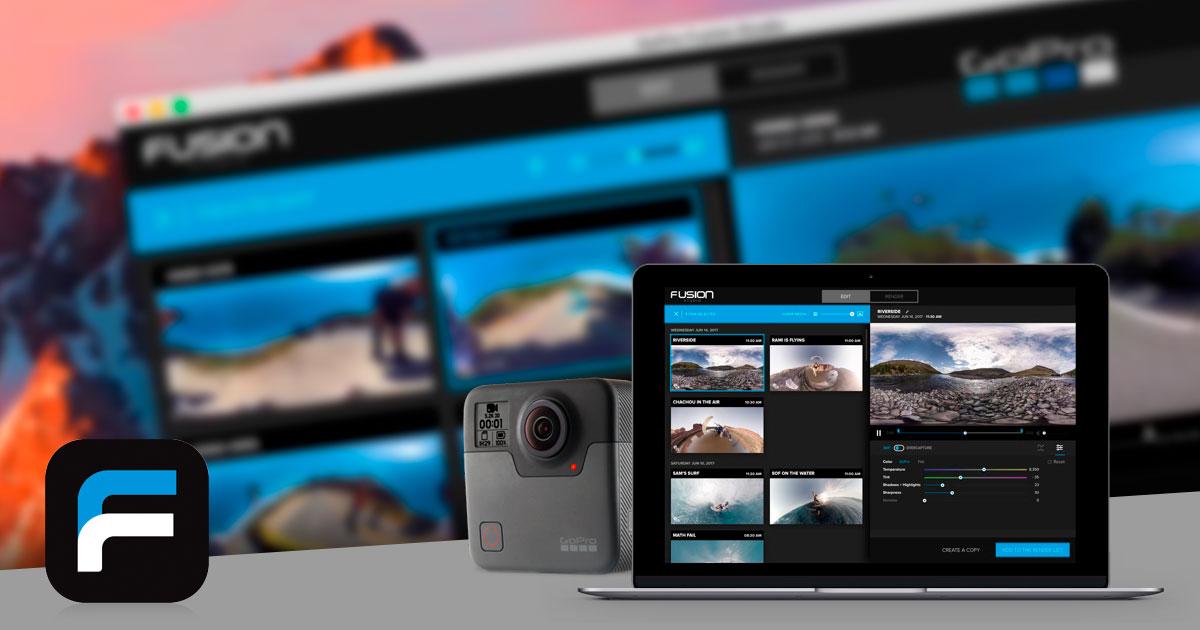 Requisiti minimi di sistema richiesti da GoPro Fusion Studio