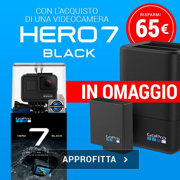 gopro hero7 black risparmio