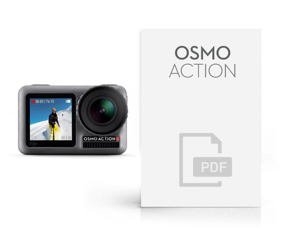 manuale dji osmo action