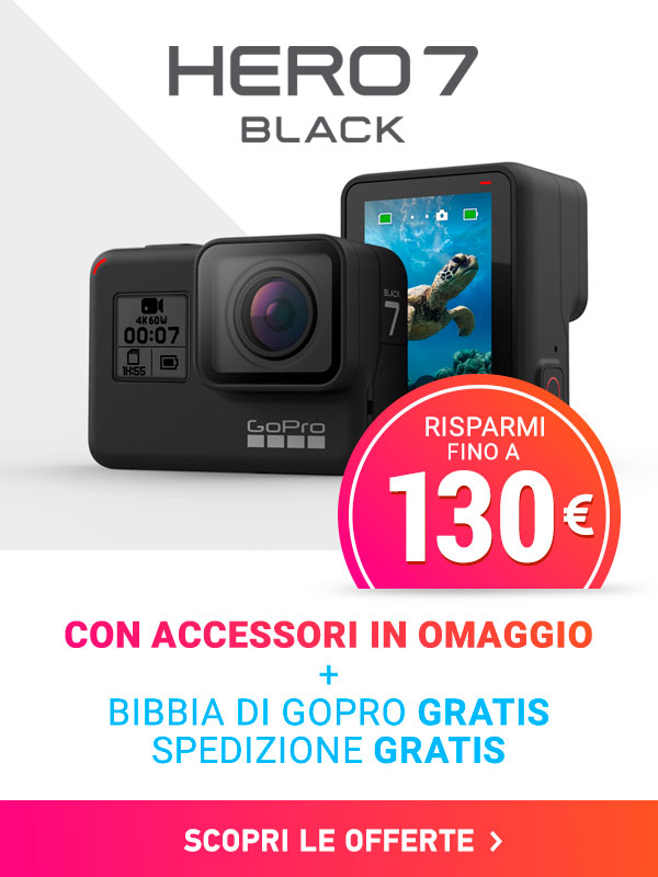 offerte gopro hero7 black