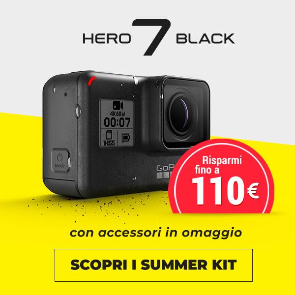 offerte gopro hero7 black
