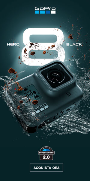 nuova gopro hero8 black