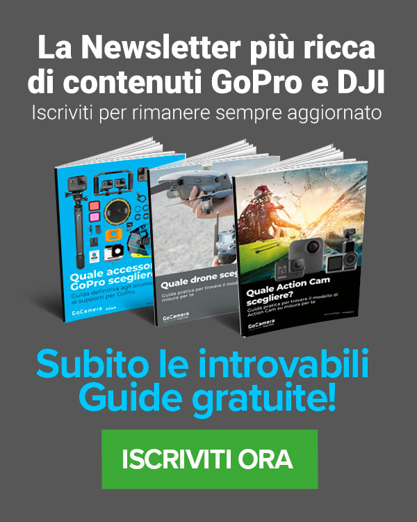 newsletter gopro e dji