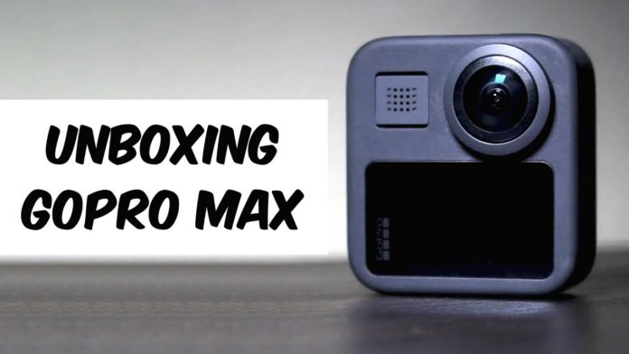 unboxing gopro max