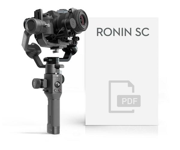 Manuale Italiano DJI Ronin SC