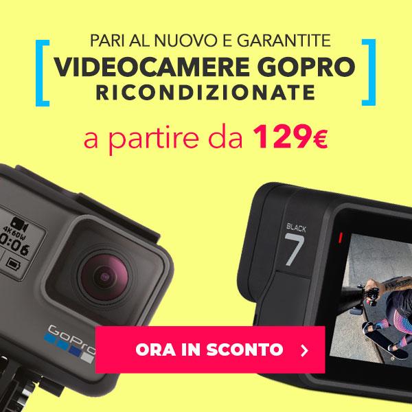 videocamere ricondizionate gopro