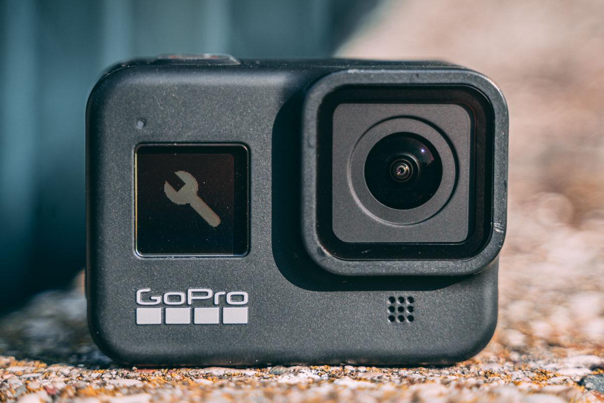 audio gopro hero8 black