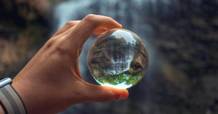 foto lensball
