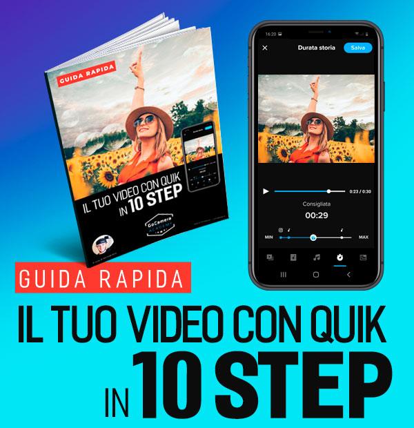 guida gopro app editing