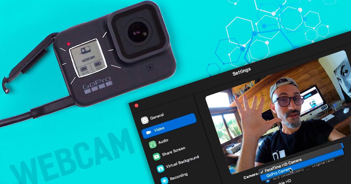 gopro hero 8 come webcam