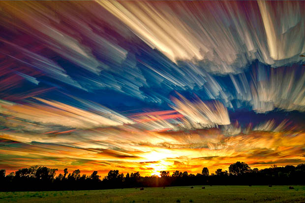 Night Photo GoPro effetto scia