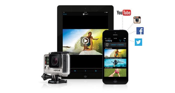 GoPro App Aggiornamento
