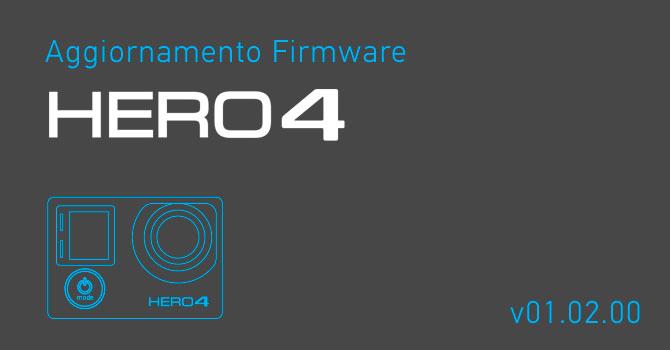 Aggiornamento Firmware GoPro HERO4