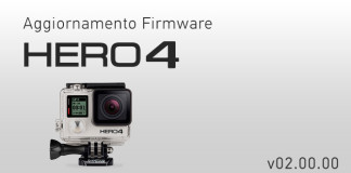 Aggiornamento GoPro HERO4 V.2.0